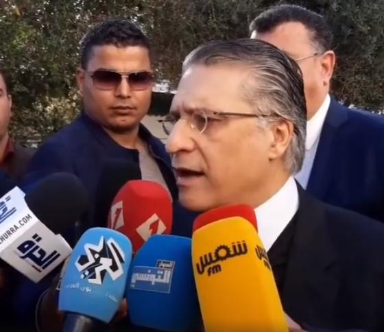 فيديو – تصريح السيد نبيل القروي رئيس حزب قلب تونس بعد لقائه برئيس الحكومة المكلف بتشكيل الحكومة