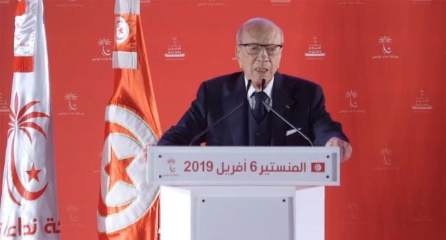 فيديو – كلمة رئيس الجمهورية الباجي قايد السبسي في افتتاح مؤتمر حركة نداء تونس