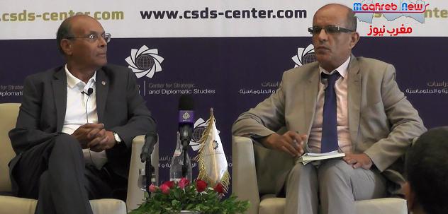 """منصف المرزوقي : تونس تشكلّ خطرا على بعض القوى الإقليمية و الدوليّة… و الخميس الأسود كان """" انتصارا """" لتونس"""